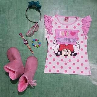 Minnie Mouse Polka Dot Shirt