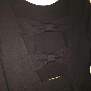 Kate Spade 黑色連身裙