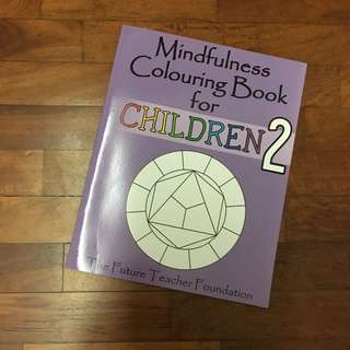 Mindfulness Colouring Book For Children