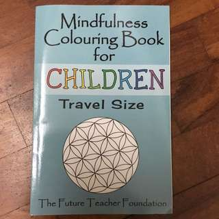 Mindfulness Colouring Book For Children (Travel Size)
