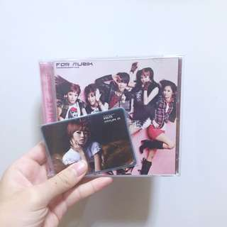 4MINUTE FOR MUSIK + HYUNA PC