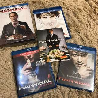 (10 discs) Hannibal Complete Series blu-ray