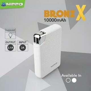 POWERBANK HIPPO BRONZ X 10.000 MAH ORIGINAL