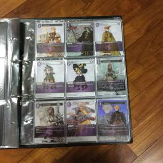 Final Fantasy TCG Opus 1 Complete Playset