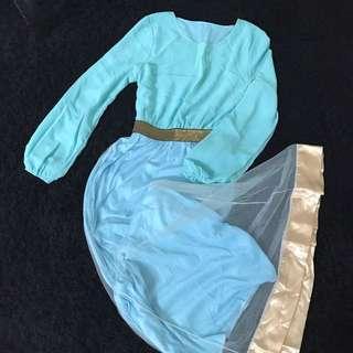 Tutu Long Dress PRELOVED