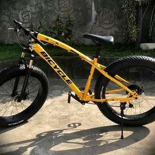 Cheapest fat bike. Fat tire mountain bike 26er