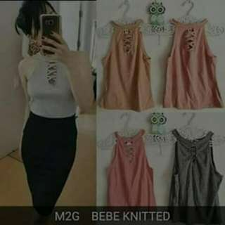 Bebe Knitted Top