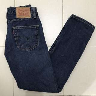 Levis 511 Skinny Denim Pants