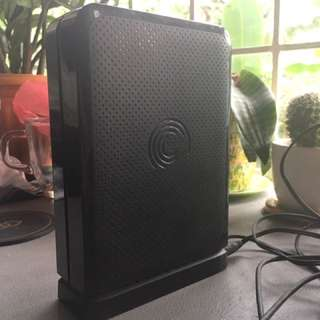 3 TB Seagate Desk External Hard Drive