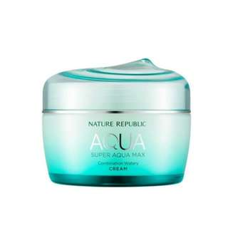 Nature Republic 超能量保水面霜 清爽保濕不黏膩 混合性 Super Aqua Max Combination Watery Cream