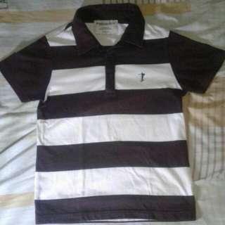 Repriced Bossini Stripes Polo Shirt