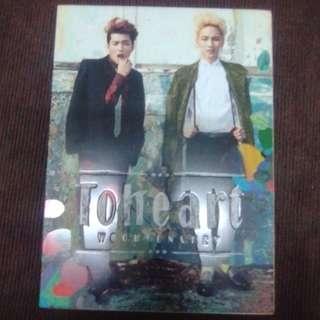 [SALE] ToHeart  Album with Key photocard #KPOPALBUM #SHiNEE #infinite