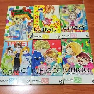 Komik Ichigo Channel volume 1-6