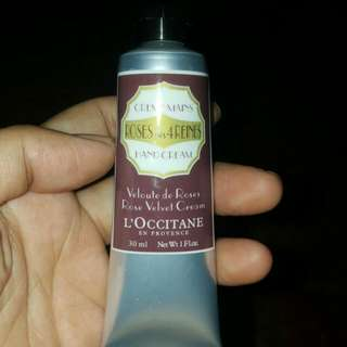 L'occitane Rose Velvet Cream - Hand Cream
