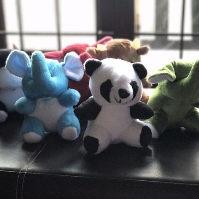 "7"" Animal Stuffed Toy"