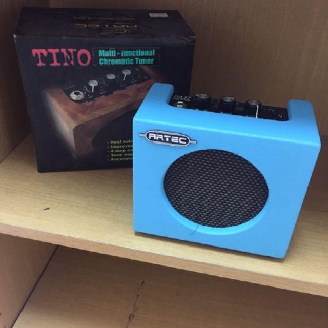 攜帶型迷你音箱 Artec 接電吉他 貝斯