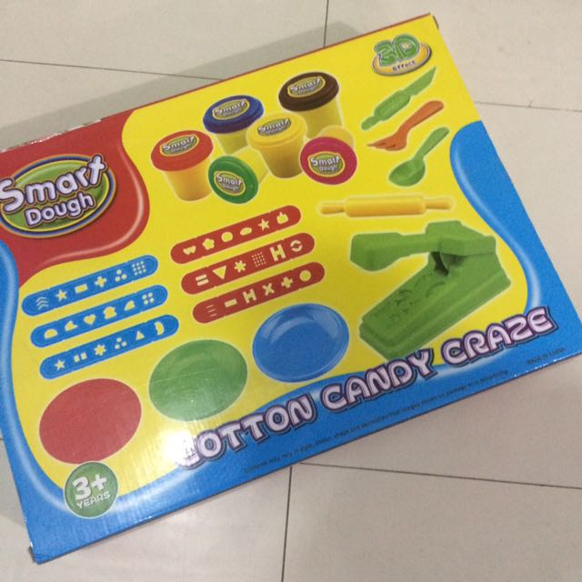 ( Php300 Only!!! ) Smart Dough Cotton Candy Craze