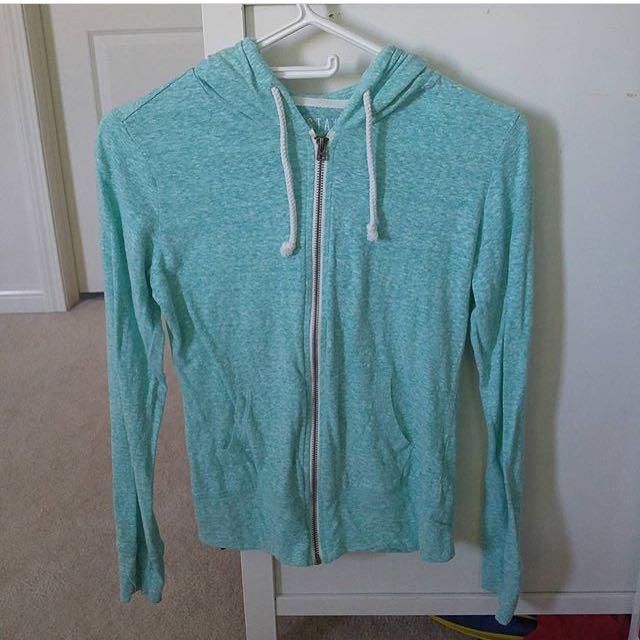 aeropostale turquoise hoodie