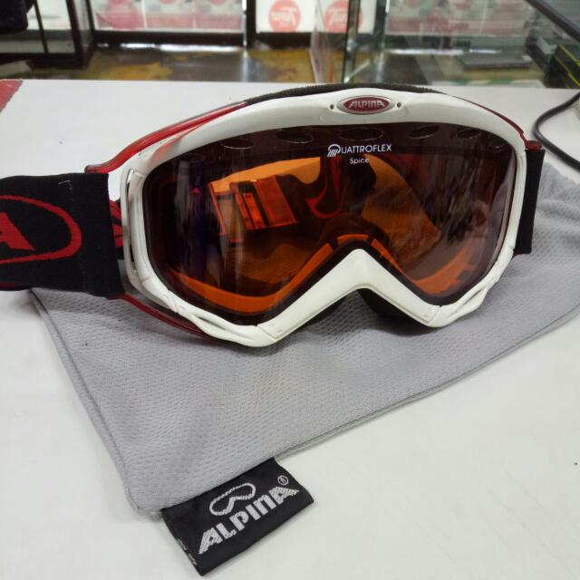Alpina Goggles Sports Sports Games Equipment On Carousell - Alpina goggles