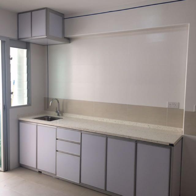 Aluminium Kitchen Cabinet Furniture Shelves Drawers On Carousell