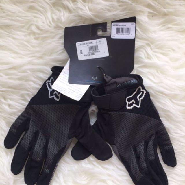 Authentic Fox Reflex Gel Gloves Size S