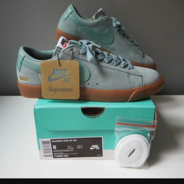 quite nice 7e3e5 a74a1 Authentic Nike Supreme Blazer Low GT on Carousell
