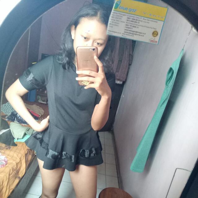 Babydoll Top In Black