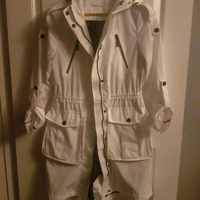 BCBG spring Jacket White Size Xs