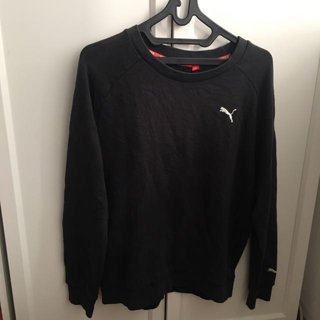Black Puma Sweater Original