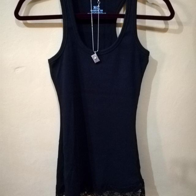 Black Sando w/ Lace