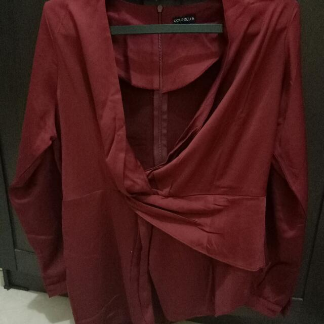 Blouse Merah Berrybenka