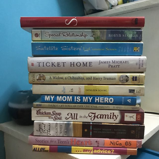 Books For 50php Each
