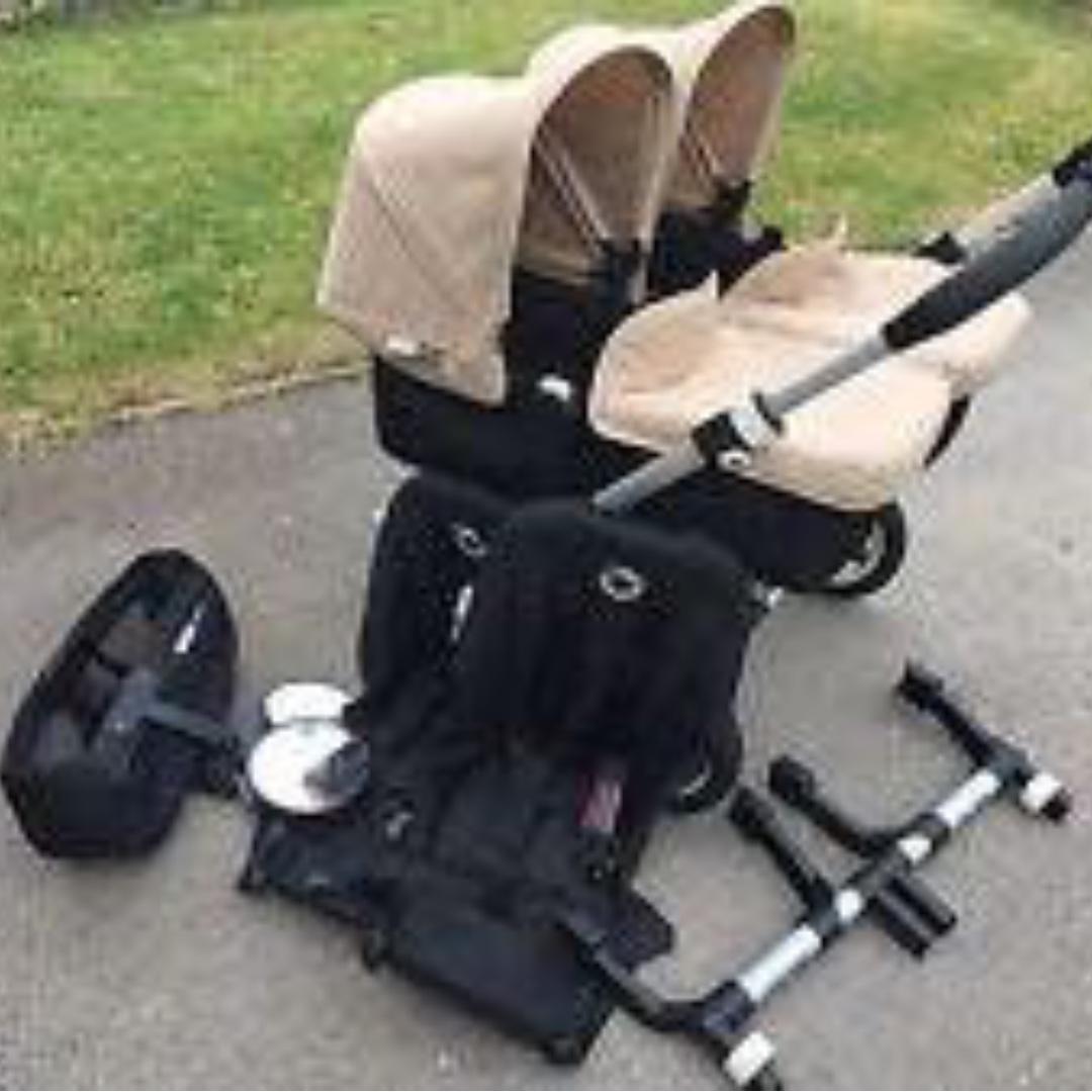 Bugaboo Donkey Twin Stroller Babies Kids Strollers Bags