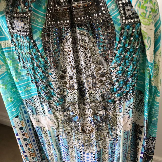CAMILLA Multi Ware Drawstring Dress One Size Fits All