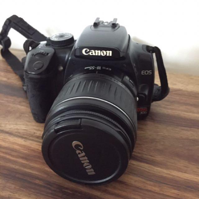 Canon EOS Rebel Xti SLR camera