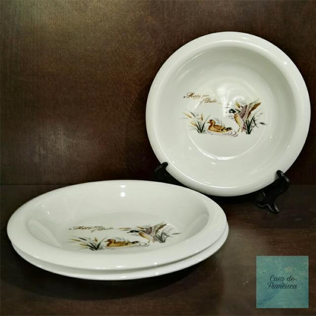 Ceramic Pasta Plates