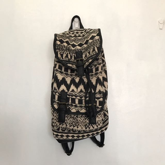 Claire's Aztec Print Backpack