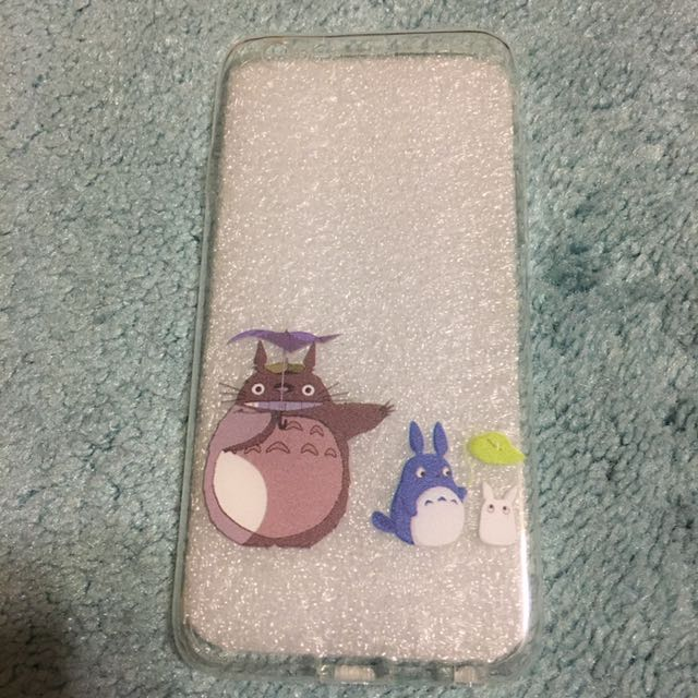 Clear Totoro iPhone 6/6s phone case