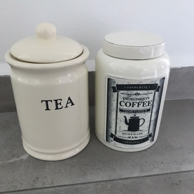 Coffee and Tea Canister Bottles