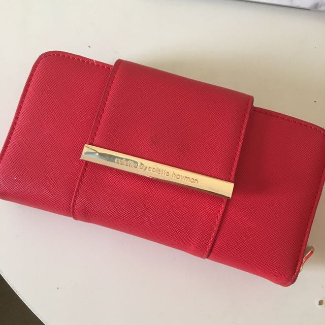 Colette Red Wallet