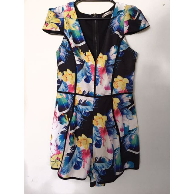 Colourful Play suit