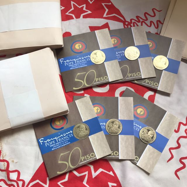 Commemorative Coin Pope Francis 2015