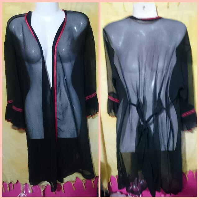 Cover Ups / Kimono Black