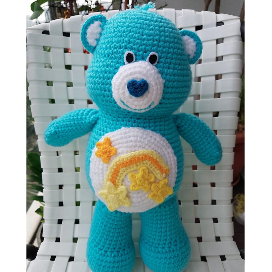 Crochet carebear amigurumi, Design & Craft, Handmade Goods ...