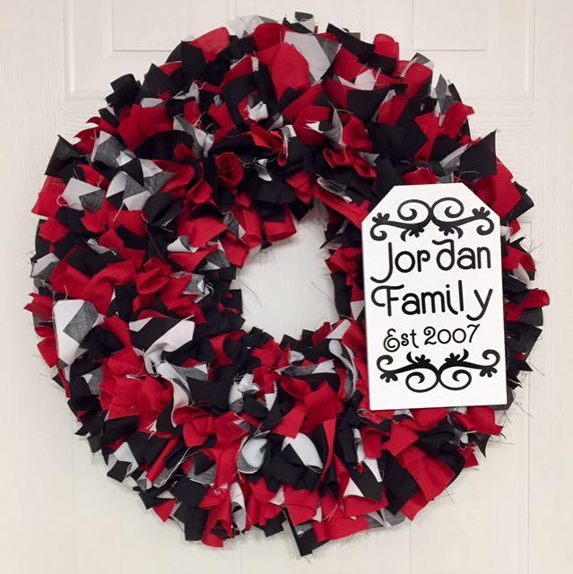 Custom Made Handmade Wreaths