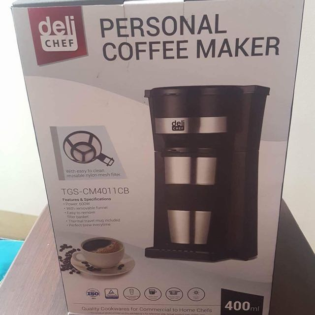 Deli Chef Personal Coffee Maker Kitchen Appliances On Carousell