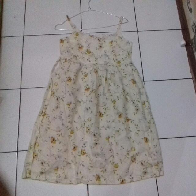 Free Ongkir - Dress Bunga Bunga
