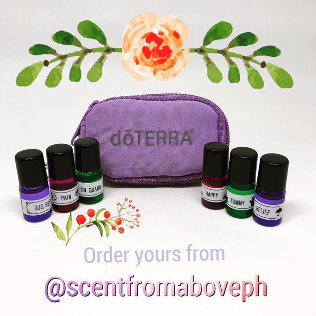 Essential Oils Travel Set