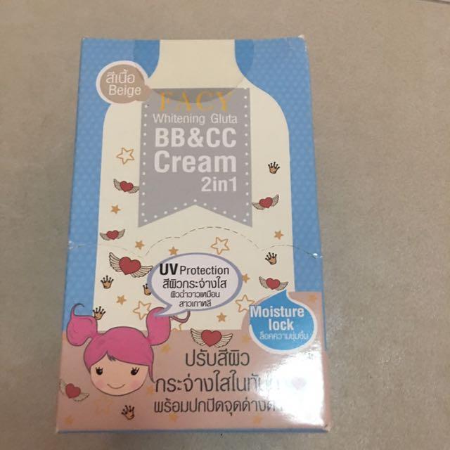 Facy BB & CC 2 In 1 Cream (Beige)