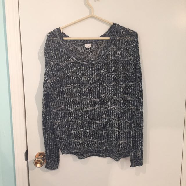 Knitted Long Sleeve Shirt